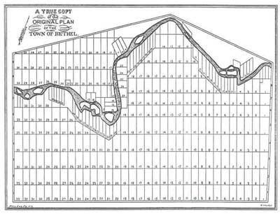 Late 1760s Bethel lot and range plan