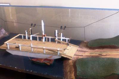 Hanover Ferry model
