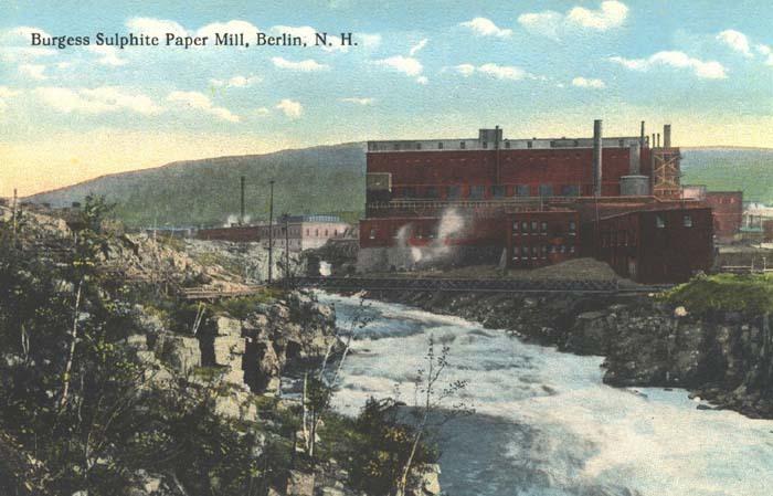 Burgess Sulphite Paper Mill, Berlin