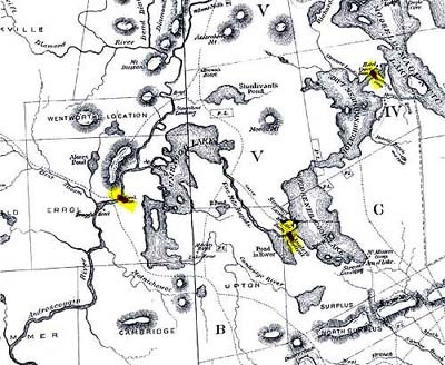 Farrar's 1876 map section