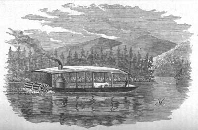 "Steamer ""Union"" on Umbagog"
