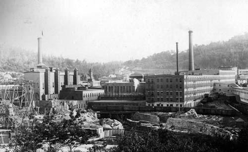 International Paper Co. mill, Rumford Falls