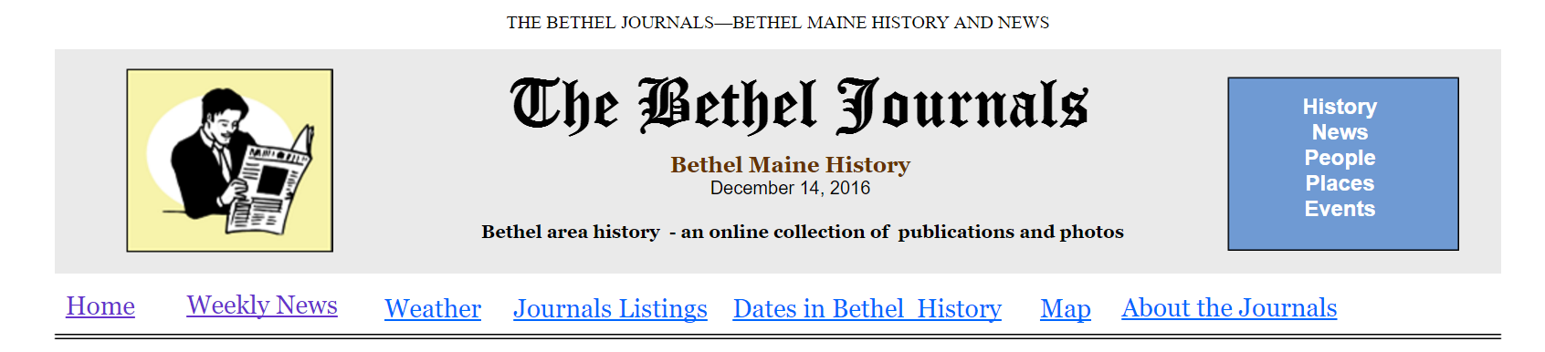 The Bethel Journals